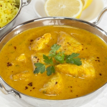 Chicken Curry with Pilau Rice