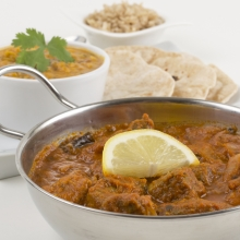 Fiery Lamb Madras with added zest