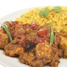 Chicken Jalfrezi with Special Rice