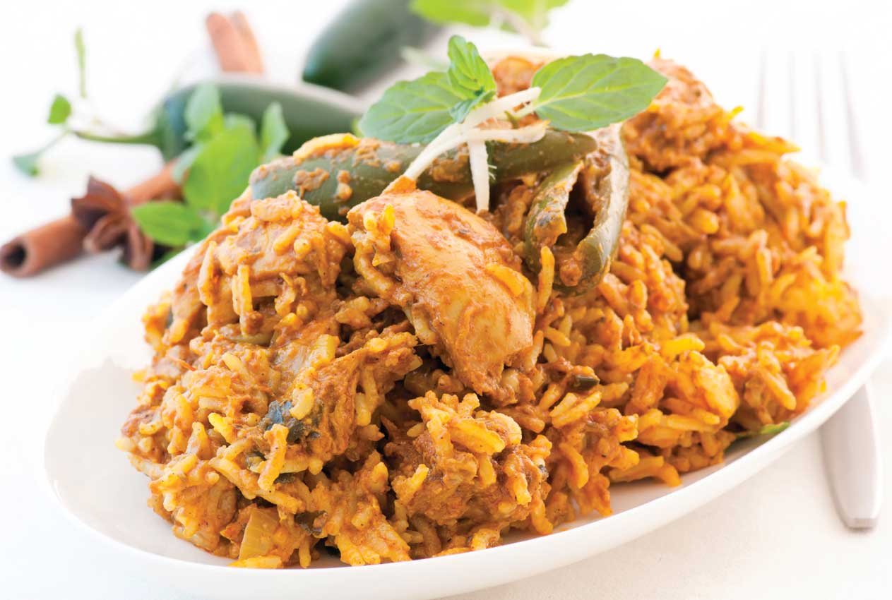 Traditional Indian Biryani